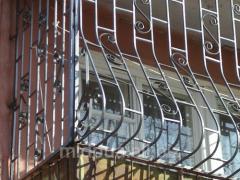 Lattices balcony Dnipropetrovsk