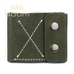 Тонкий кожаный кошелек-портмоне BlackBrier (П-2-76)