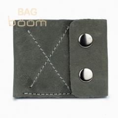 Тонкий кожаный кошелек-портмоне BlackBrier (П-2-77)