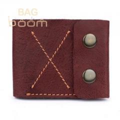 Тонкий кожаный кошелек-портмоне BlackBrier (П-2-78)