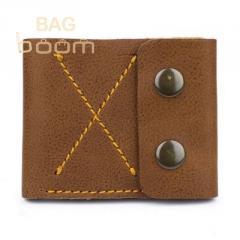 Тонкий кожаный кошелек-портмоне BlackBrier (П-2-80)