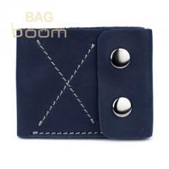 Тонкий кожаный кошелек-портмоне BlackBrier (П-2-97)