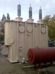Capital repairs of power transformers