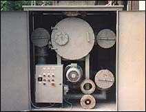 Установка для обработки твёрдой изоляции силовых трансформаторов ИНЕЙ-4М