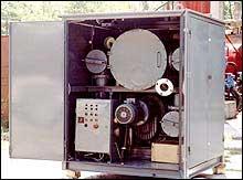 Установка для обработки твёрдой изоляции силовых трансформаторов ИНЕЙ-5М