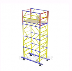 The tower is mobile, height 6.1m, 2.0х1.2