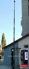 Мачта телескопическая унифицированная МТУ-10.