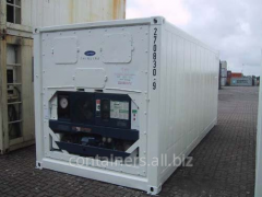 Reefer containers of 20 feet of 1997-1999 of
