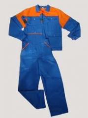 Overalls - realization wholesale. Overalls working