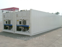 Reefer containers 40 ft 1997-1999 biennium.
