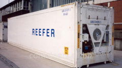 Reefer containers 40 ft 2000-2006 biennium.