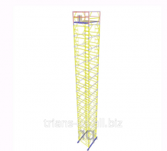 The tower is mobile, height 21.7m, 2.0х2.0