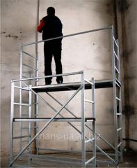 Scaffolding for internal works, / p 150 kg