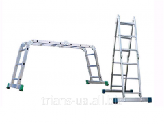 Ladder transformer hinged 4-section 4x3 AXIAL,