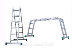Ladder transformer 4x3 AXIAL, hinged 4-section