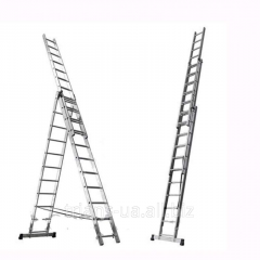 Ladder folding 3-section 3x13 AXIAL