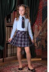 Блузка, юбка школьная