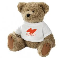 Corporate soft toys with a logo, tailoring, the
