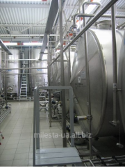 Capacitor equipment for production of alcoholic
