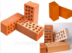 The brick is ceramic construction unary