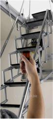 Ladder garret ACI SVEZIA Aluminio Motorizzatta