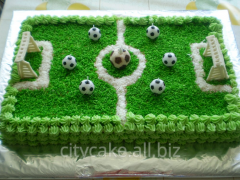 Cake thematic Football field No. 0096 product