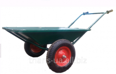 Wheelbarrow construction and garden 2-wheeled