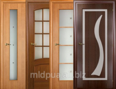 Doors interroom with glass Dnipropetrovsk
