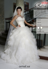 "Wedding dress ""ROSA VITA"" of TM"