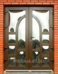 Doors metalplastic Dnipropetrovsk