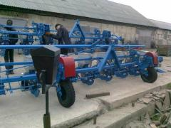 Seeders of exact seeding, seeder of exact seeding