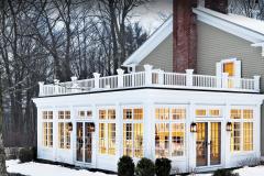 Handrail for open verandahs