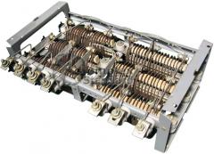 Block of BFK Irak.434.332.001-06 resistors