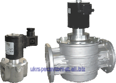 Electromagnetic gas Madas M16/RM NC valve