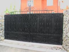 Кованые ворота, ковка Хмельницк и область