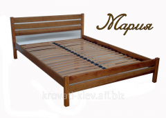 "Wooden bed ""Maria"