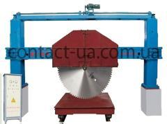 The automatic machine one-saw on blocks - 180/220