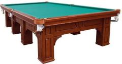 Billiards. A table for billiards the Atlas