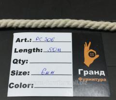 Шнур для одежды,  6 мм,  Арт. PC306