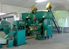 Line of briquetting of 800-1000 kg/h Pini-Kay