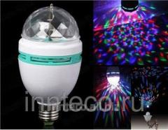 Full Color Rotating Lamp / the Rotating