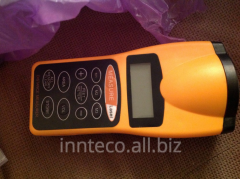Ultrasonic roulette, remote measuring instrument