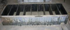 Forms for foam concrete
