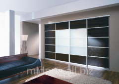 Sliding wardrobes built-in Dnipropetrovsk