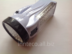 LED lamp with the accumulator 222