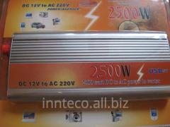 Tension inverter, the converter 12/220V - 2500W