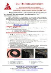 Bezazbestovy sealing cord Plastogneupor PS
