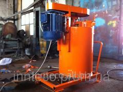 Equipment for foam concrete blocks