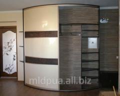 Sliding wardrobes radial Dnipropetrovsk