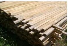Thanh gỗ dài